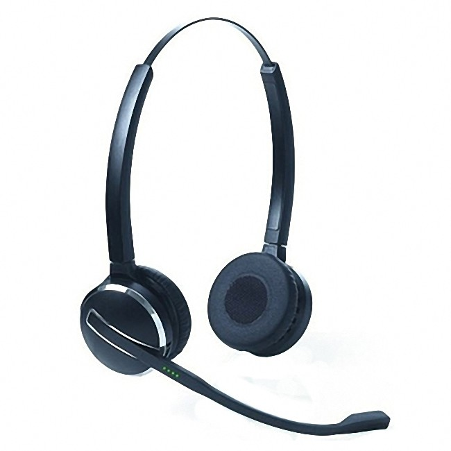 Jabra Pro 9460 Duo Wireless Headset With Touchscreen For: Jabra PRO 9400 Series Spare Duo Headset